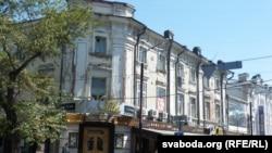 Старыя кварталы Іркуцку