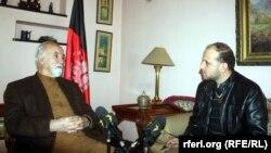 هدایت امین ارسلا نامزد ریاست جمهوری در جریان مصاحبهء اختصاصی با سید فتح محمد بها خبرنگار رادیو آزادی در کابل