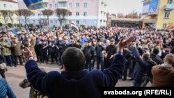 «Марш недармаедаў» у Воршы 12 сакавіка