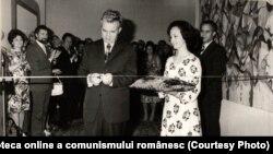 Inaugurarea expoziţiei de carte şi mijloace de informare şi educare a maselor. (25 mai 1977) Fototeca online a comunismului românesc. Cota 89/1977