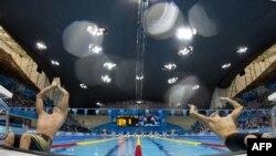 Olimpijske igre u Londonu, plivanje, ilustracija
