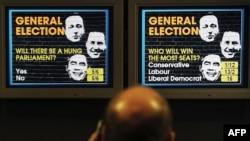 Britaniyada parlament seçkisində təbliğat plakatı