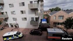 Barking, istočni London, gdje je policija u ponedjeljak izvela nove racije, 5. jun 2017.