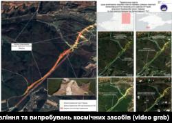 Дані моніторингу будівництва траси «Таврида» Національним центром управління та випробувань космічних засобів
