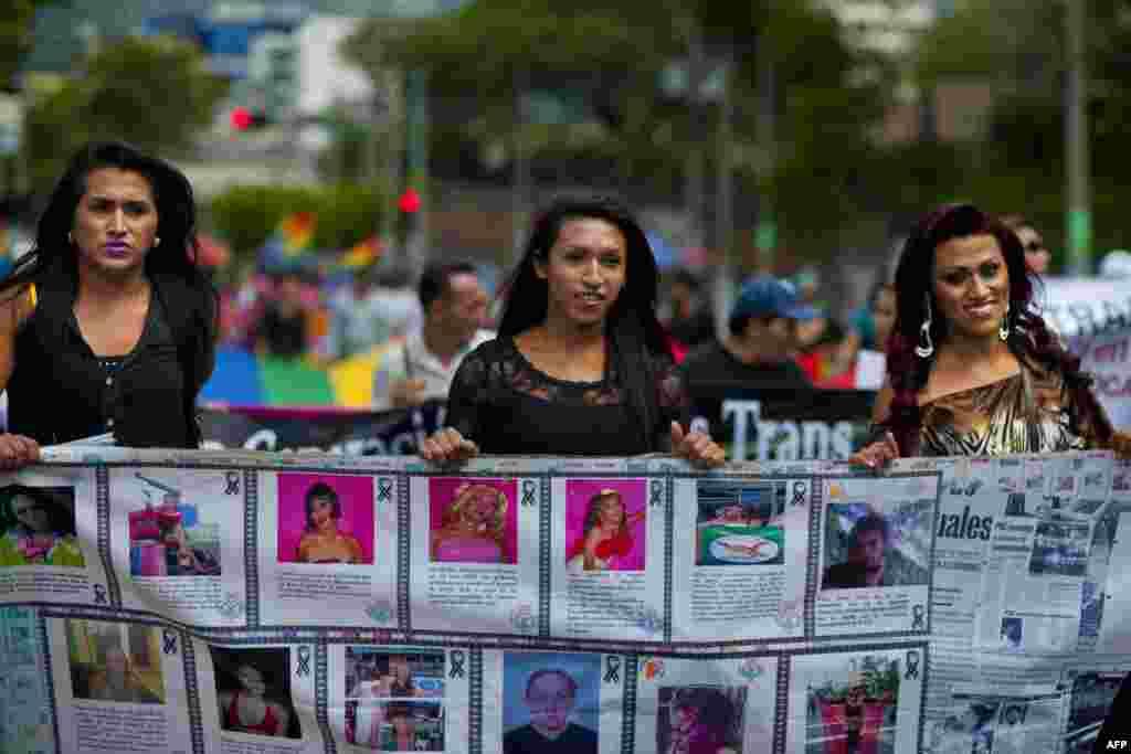 فعالان حقوق همجنسگرایان و دوجنسگرایان در سانسالوادور
