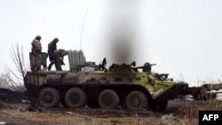 Щось у сепаратистів не заводиться… Єнакієве, 6 лютого 2015 року