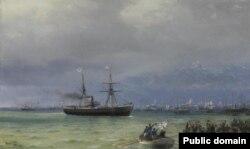 Іван Айвазоўскі «Карабель дапамогі» (1892)