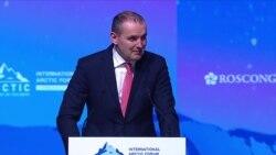 Форум Арктика. Президент Исландии говорит по-русски