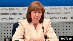 Натальля Качанава, архіўнае фота