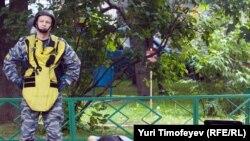 Сапер на месет убийства Юрия Буданова