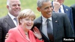Лідери Німеччини Анґела Меркель та США Барак Обама під час одного з попередніх самітів «Групи семи»