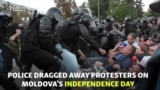 'This Is A Dictatorship' - Protests Mark Moldova's Independence Day