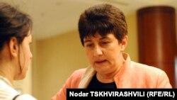 Кети Хуцишвили заявила, что дело не в том, что НПО нужен какой-то особый статус – новый закон о политических объединениях ущемляет конституционные права всех граждан (фото из архива)