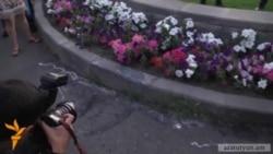 Վահե Ավետյանի հուշաքարն անհետացել է տեղադրելուց 1,5 ժամ անց. ուղիղ հեռարձակման տեսագրությունը