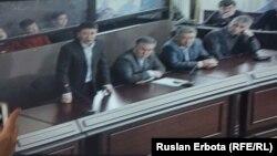 Талғат Ермегияевтің үстінен басталған алдын ала сот тыңдауы. Астана, 18 наурыз 2016 жыл.