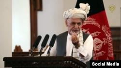 Авганистанскиот претседател Ашраф Гани.