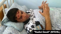 Tajik journalist Daler Sharifov recovers in hospital after being severely beaten in Dushanbe