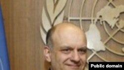 Постоянный представитель Грузии при ООН Александр Ломая