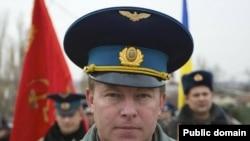 """Командующий базой """"Бельбек"""" Юлий Мамчур - один из шести взятых в плен украинских офицеров."""