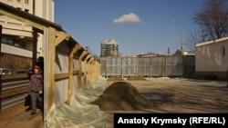 Реконструкція дороги, Сімферополь