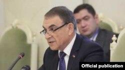 Председатель Национального собрания Армении Ара Баблоян