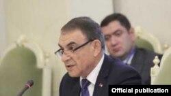 Председатель Национального собрания Армении Ара Баблоян, Санкт-Петербург, 13 октября 2017 г.