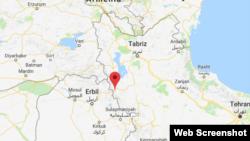 Piranshahr is a Kurdish-populated area near the border with Iraqi Kurdistan.