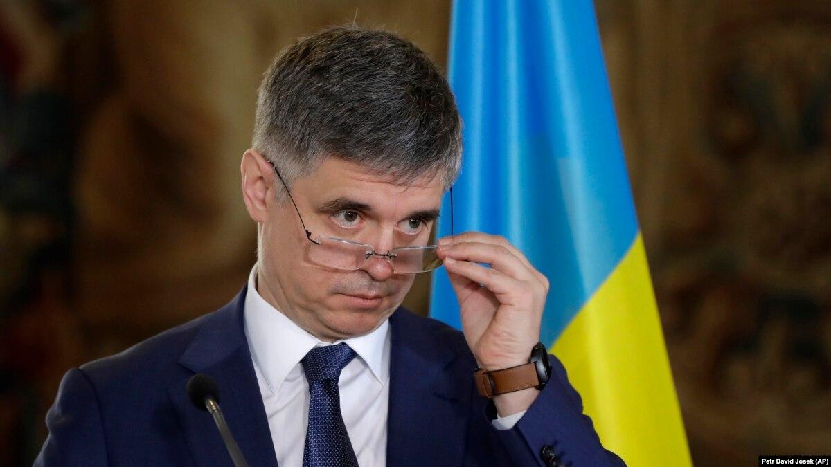 Пристайко: разговоры с президентом Зеленским о моей отставке не было