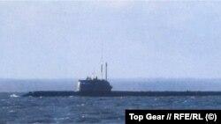 """Предположительно, фотография атомной глубоководной станции 1-го ранга АС-12 проекта 10831 """"Лошарик"""""""