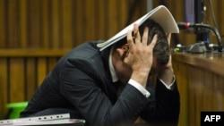 Оскар Писториус в суде Претории.