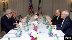Переговоры Джона Керри и Джавада Зарифи в Женеве