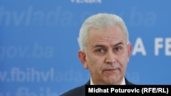The president of the Bosniak-Croat Federation, Zivko Budimir