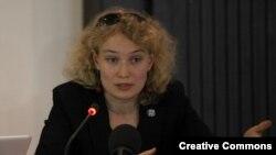 Аляксандра Кулаева, архіўнае фота FIDH.