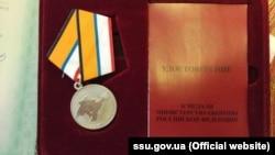 Медаль «За возвращение Крыма». Иллюстрационное фото