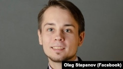 Oleg Stepanov works on Navalny's team in Moscow.