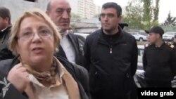 Лейла Юнус, азербайджанская правозащитница, директор Института мира и демократии в Баку.