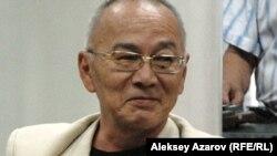 Поэт и писатель Дюсенбек Накипов. Алматы, май 2012 года.