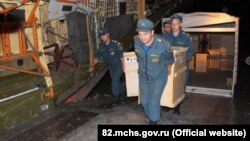 Вывоз техники из Крыма для Приморья