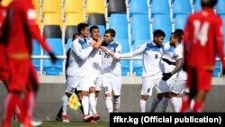 Кыргызстандын футбол боюнча улуттук курама командасы. 22-март, 2018-ж. Инчхон, Түштүк Корея.