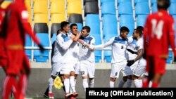 Кыргызстандын футбол боюнча улуттук курама командасы. 22-март, 2018-ж. Инчхон, Корея.