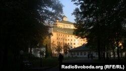 Реконструйований корпус в «Феофанії», Київ, 27 жовтня 2011 року