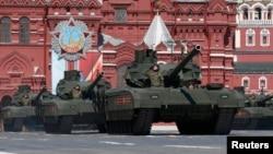 Ռուսաստան - Հաղթանակի տոնին նվիրված զորահանդեսը Մոսկվայում, 9-ը մայիսի, 2016թ․
