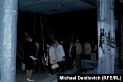 Участники Ассоциации жертв политических репрессий в музее.