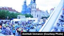 Праганын Эски аянты марафон учурунда. 3-май 2015