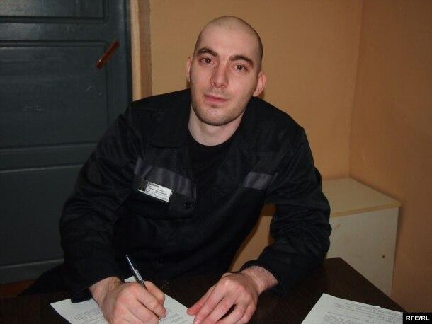 Альберт Шамаев в колонии