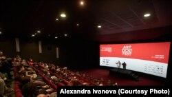 """Открытие """"Артдокфеста"""" в Москве"""