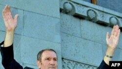 Armenian opposition leader Levon Ter-Petrossian