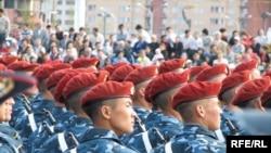 Әскери парад. Астана, 2009 ж. тамыздың 30-ы