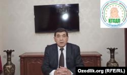"""Кыдырназар Аллакулов, Өзбекстандын """"Акыйкат жана өнүгүү"""" социал-демократиялык саясий партиясынын төрагасы."""