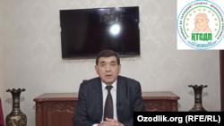 """""""Haqiqat va Taraqqiyot"""" partiyasi yetakchisi, professor Xidirnazar Allaqulov"""